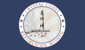 Crystal Coast Republican Women, Morehead City, North Carolina Date: Friday, Oct. 15 from 10-12 PM ET.